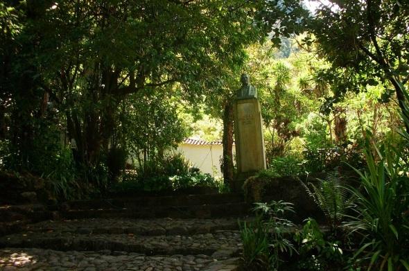 En los jardines de la Quinta