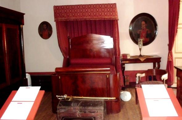Habitación de Simón Bolivar en la Casa Quinta