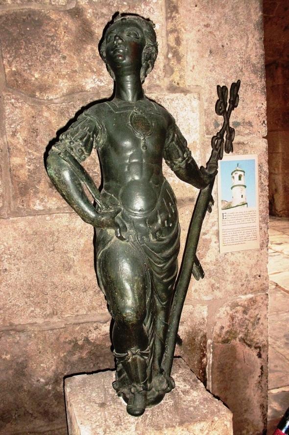 La Giraldilla original está el Museo de la ciudad, en el antiguo Palacio de los Capitanes Generales