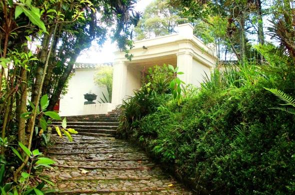 Lugar de recreo de Simón Bolivar