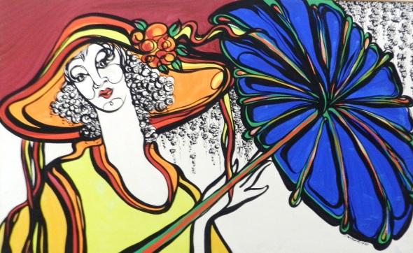 Autor Nazario Salazar Martinez. Mixto Lienzo. Dimensión 50 x 130 cm.Año 2015
