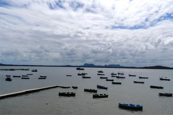 Bahía de Gibara, Holguín. Autor Lázaro David Najarro Pujol. Dimensión 8 x 12 cm