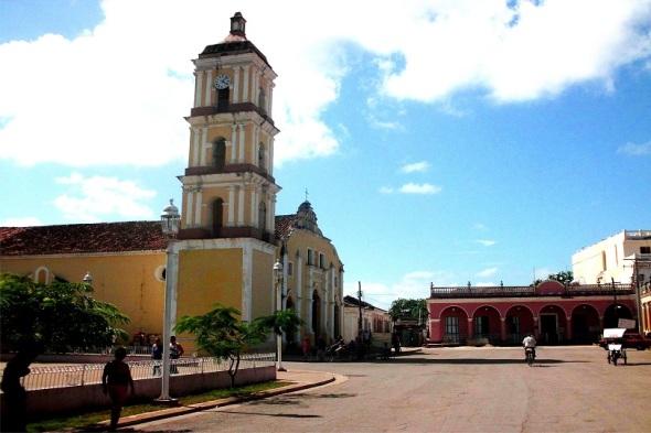 San Juan de los Remedios. Autor Lázaro David Najarro Pujol. Dimensión 12 x 18 cm