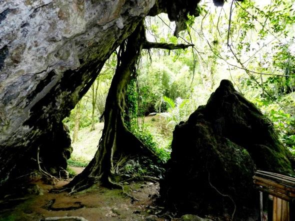 A pocos metros del Rincón del Yoga se levantan majestuosos los hermosos paredones