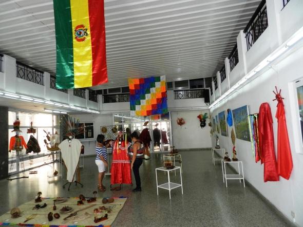 Exposición itinerante El Mundo Amazónico boliviano