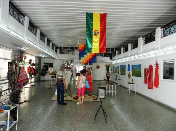 La muestra contiene piezas salidas de las manos de aborígenes residentes en esa zona de los departamentos orientales de Pando, Beni y Santa Cruz