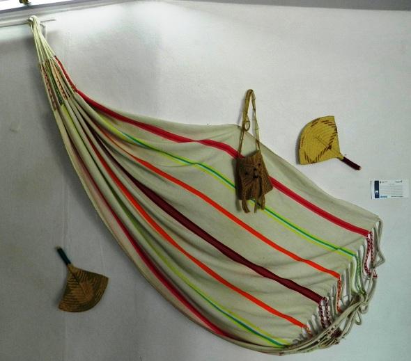 Pieza en la exposición itinerante El Mundo Amazónico boliviano