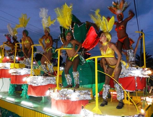 Las carrozas en San Juan