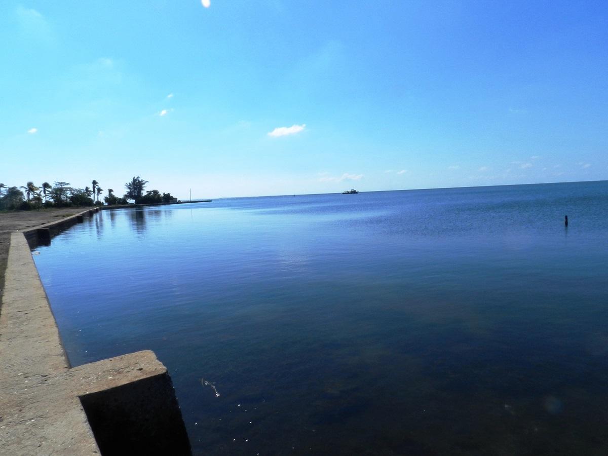 El huracán Paloma hizo desaparecer del este de las costas de la Punta de Playa Bonita,