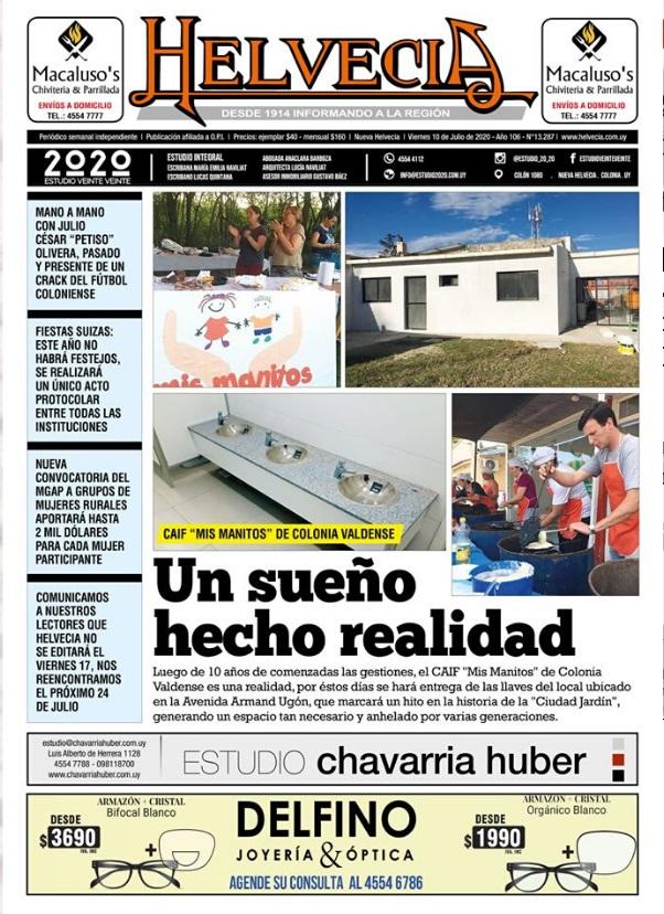 Periódico Semanal Helvecia
