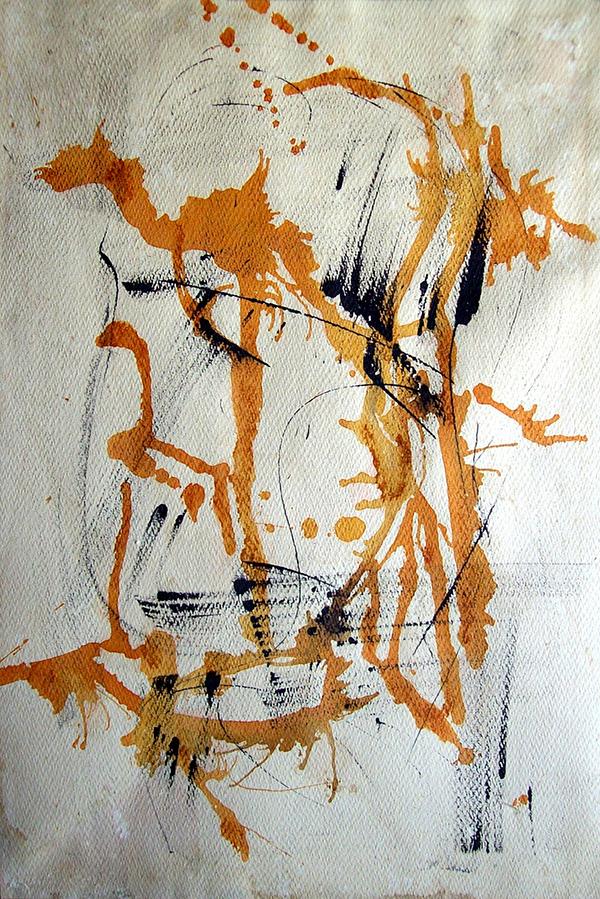 Obra  abstracta de Escardó
