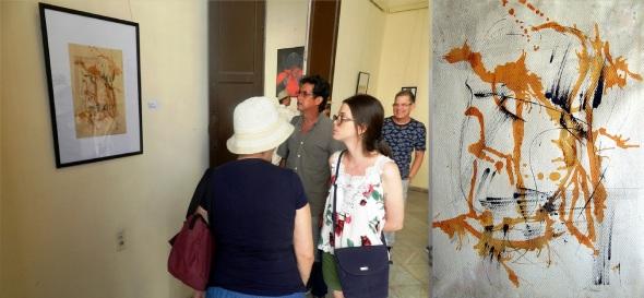 Pavel Alejandro colecció lo más representativo de la obra pcitorica de Escardó. Foto Lázaro David Najarro