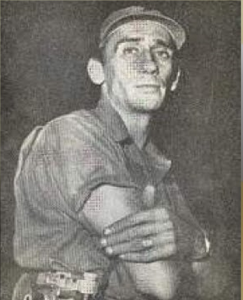 Poeta y revolucionario camagüeyano Rolanbdo Escardó. Fotocopia Lázaro D. Najarro