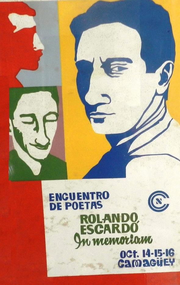 Primer Encuentro Nacional de Poetas efectuado en  1969