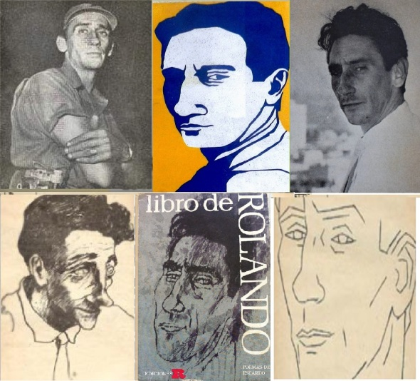 Rolando Escardó. Collage Lázaro David Najarro Pujol