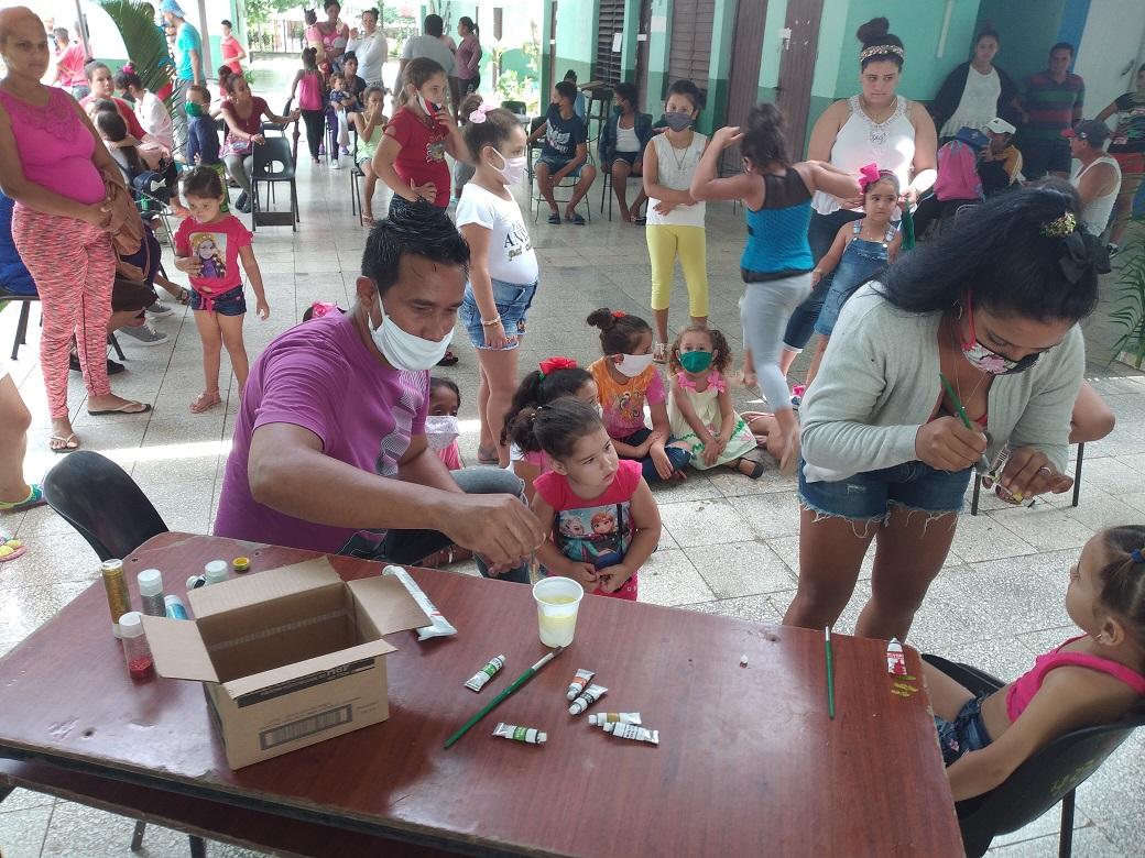 El proyecto se propone contribuir al mejoramiento de la calidad de vida de los pobladores del Consejo Popular Foto cortesía del proyecto