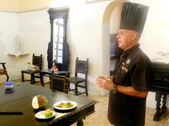 Rodríguez Pino disertó de manera online entorno a transculturación culinaria