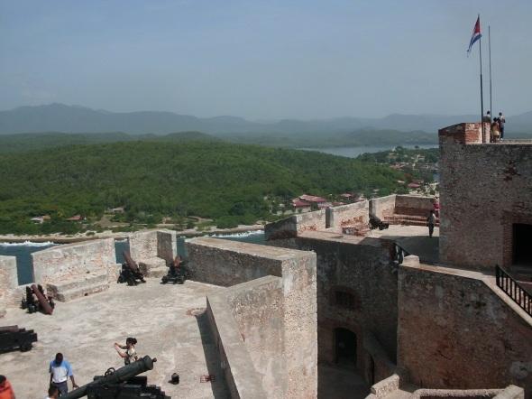 Desde el Morro de Santiago de Cuba