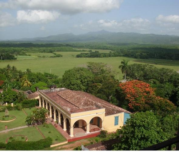 El verdor del Valle de los Ingenios, Trinidad