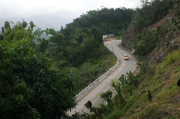 La Farola, Baracoa, muy impresionante vía