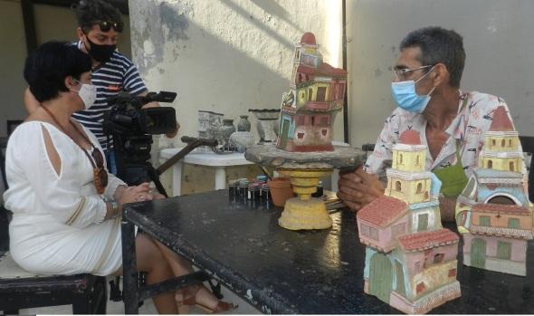 La obra de Ramón Guerra fuente ce inspiración de realizadores de audiovisuales